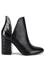 Steve Madden Rookie Bootie In Black. Black Multi