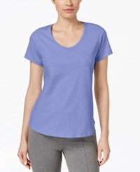 Charter Club Short Sleeve Pajama Top Only At Macy's Orchid