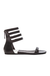 Marsell Marsell Flat Ankle Strap Sandals In Black