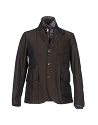 Geospirit Suits And Jackets Blazers Men Dark Brown