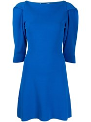 Stella Mccartney Structured Shoulders Short Dress 60