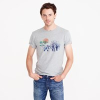 J.Crew For David Sheldrick Wildlife Trust Elephant T Shirt