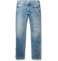 Incotex Slim Fit Stretch Denim Jeans Light Denim