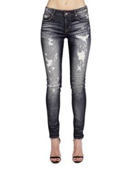 Cult Of Individuality Zen Five Pocket Skinny Fit Jeans Wings