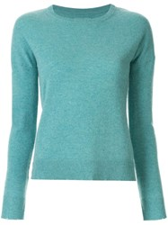 Zadig And Voltaire Long Sleeved Knitted Top Blue