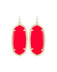 Kendra Scott Elle Earrings Cherry Gold