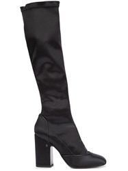 Laurence Dacade 'Magnolia' Knee High Boots Black