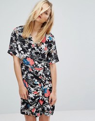 Paul And Joe Sister Floral Print Wrap Tea Dress Multi