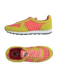 Colors Of California Footwear Low Tops And Trainers Women Coral