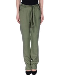 Desigual Trousers Casual Trousers Women Military Green
