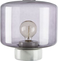 Cb2 Rosie Smoke Table Lamp