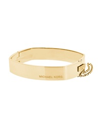 Logo Hinge Bangle Bracelet Michael Kors