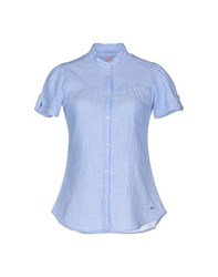 Sun 68 Shirts Shirts Women Sky Blue