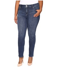 Lucky Brand Plus Size Emma Straight In Salty Water Salty Water Women's Jeans Blue