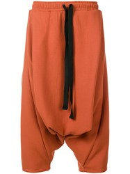 Alchemy Cropped Length Trousers Yellow And Orange
