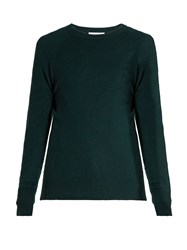 Equipment Sloane Cashmere Sweater Dark Green