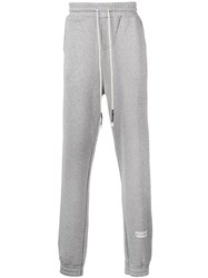 Mostly Heard Rarely Seen Shine Dad Track Trousers Silver