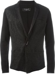 Transit One Button Blazer Black