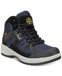 Khombu Men's Mason Lightweight Waterproof Hiker Boots Men's Shoes Black Navy