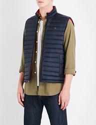 Tommy Hilfiger Down Filled Quilted Shell Gilet Sky Captain