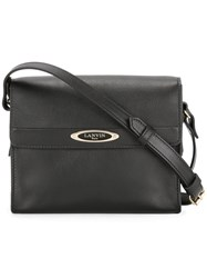 Lanvin Mini Sac De Ville Crossbody Bag Black