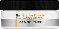 Menscience Men's Hair Styling Pomade Colorless No Color
