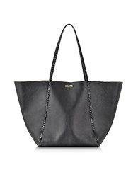 Linda Farrow Black Ayers And Calf Leather Tote