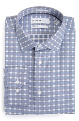 Calibrate Men's Big And Tall Trim Fit Non Iron Plaid Dress Shirt