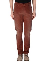Franklin And Marshall Casual Pants Brown