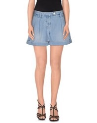 Hydrogen Denim Denim Shorts Women Blue