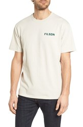 Filson Outfitter Graphic T Shirt Pebble Grey