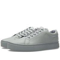 Saturdays Surf Nyc Saturdays Derek Leather Tennis Sneaker Grey