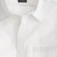 J.Crew Slim Secret Wash Point Collar Shirt In White
