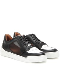 Givenchy Tyson Low Ii Leather Sneakers Black