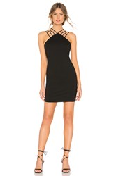 By The Way Baylee Strap Mini Dress Black