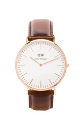 Daniel Wellington Bristol 40Mm Brown