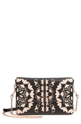 Ted Baker London Buttons Queen Bee Crossbody Bag Black