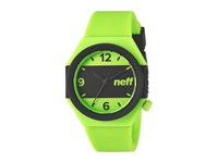 Neff Stripe Watch Lime Black Watches Green