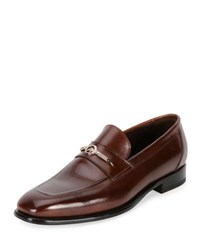 Stefano Ricci Calf Leather Classic Loafer Brown