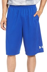 Under Armour Men's 'Select' Moisture Wicking Basketball Shorts Royal