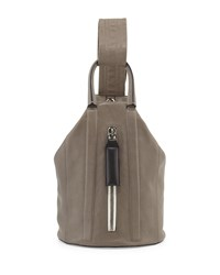 Rag And Bone Rag And Bone Aston Leather Sling Backpack Smoke