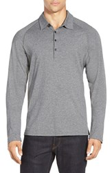 Men's Nau 'Polonium' Long Sleeve Jersey Polo