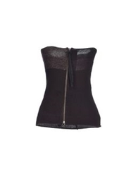 Blayde Tube Tops Dark Brown