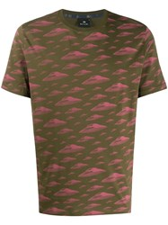 Paul Smith Ps Camouflage Print T Shirt 60