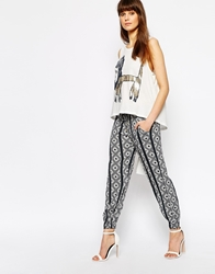 Sass And Bide A Grand Gesture Trousers Print