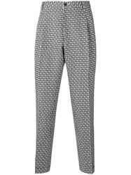 Etro Baggy 'Manhattan' Trousers Blue