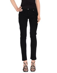 Two Women In The World Denim Denim Trousers Women Black