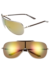 Bcbgmaxazria Shield Sunglasses Gold