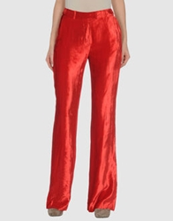 Plein Sud Jeans Plein Sud Casual Pants Red