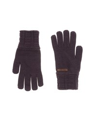 Patrizia Pepe Accessories Gloves Men Deep Purple
